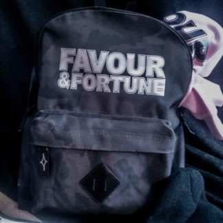 Favour & Fortune Midnight Camo Backpack