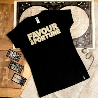 Favour and Fortune Distressed Girls Tee